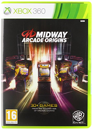 [UK-Import]Midway Arcade Origins Game XBOX 360
