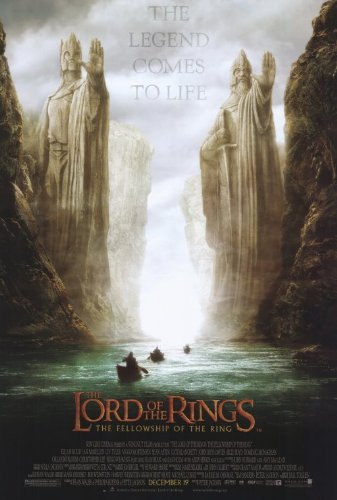 Lord of the Rings 1: The Fellowship of the Ring - 2001 - 27 x 40 Movie Poster - Style D