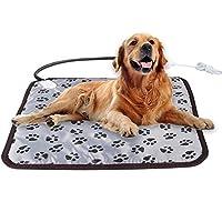 ペット用ホットカーペット 電気ヒーター 犬 猫 暖房器具 ペット加熱パッド 過熱保護 噛み付き防止 防寒用具 寒さ対策 ポカポカ 温度調節