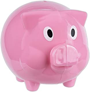 Pink Piggy Bank for Kids Educational Toy