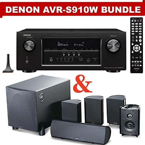 Check Out This Denon AVR-S910W 7.2 Channel Full 4K Ultra HD A/V Receiver (Bluetooth & Wi-Fi) NOW WIT...