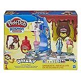Hasbro - Play-Doh Gelato Drizzy, Playset con Pasta da Modellare Kitchen...