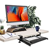 Best Keyboard Trays - Keyboard Tray Under Desk,Clamp on Keyboard Tray Adjustable Review
