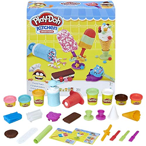 Play-Doh Helados Deliciosos (Hasbro E0042EU4) , color/modelo