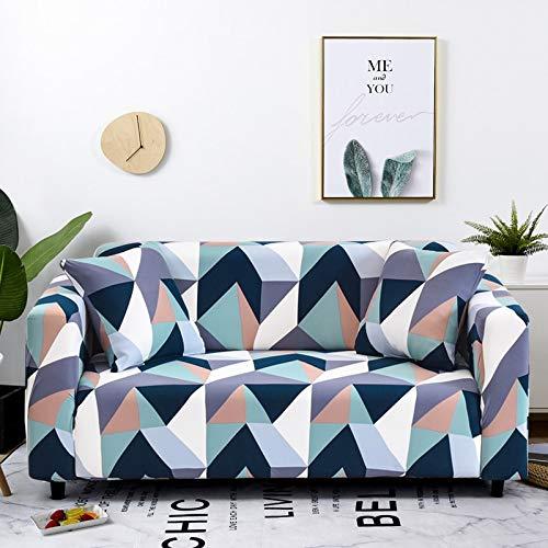 WXQY Funda de sofá Funda de Muebles elástica Funda de sofá elástica, Funda de sillón para Sala de Estar, Funda de sofá antiincrustante Todo Incluido A22 4 plazas