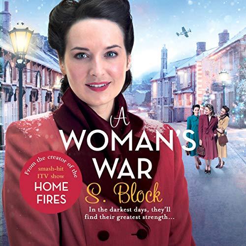 A Woman's War audiobook cover art