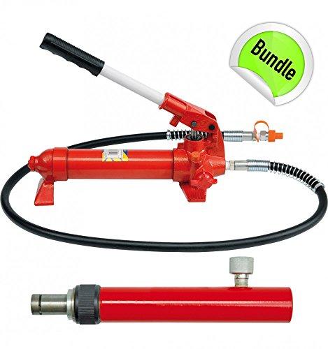 Hydraulikpumpe Richtsatz Druck Zylinder Presse Hydraulikzylinder 10 Tonnen