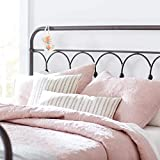 Stone & Beam Vintage-Inspired Floral Embroidery Coverlet Set, Full / Queen, 90' x 90', Blush