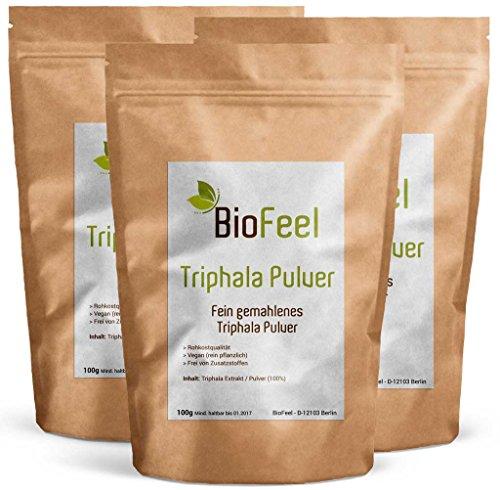 BioFeel - Triphala Pulver, 300g