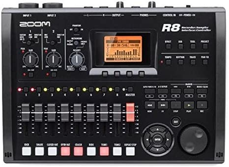discount Zoom R8 Multitrack SD online Recorder Controller and Interface (Certified outlet sale Refurbished) outlet sale