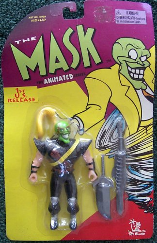 Maschera Serie Animata Ninja Maschera con Doppie Braccia Tritatutto