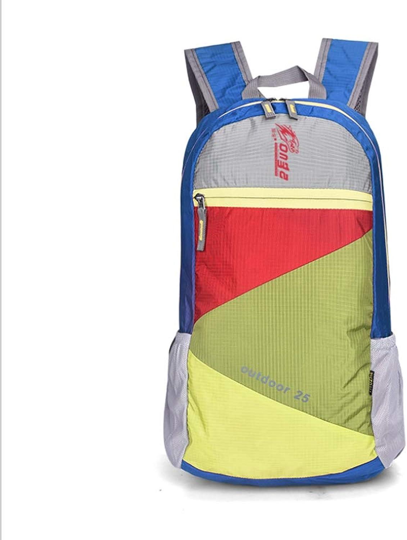 Outdoor Backpack Folding, Backpack Backpack Outdoor Hiking Bag Waterproof Hiking Backpack, Student Bag