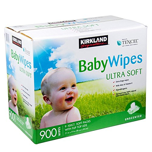 Kirkland Signature Unscented Baby Wipes