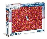 Clementoni- Impossible Puzzle de 1000 Piezas, Frozen 2 (39526)