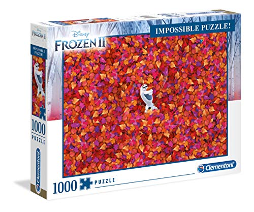 Clementoni - 39526 - Impossible Puzzle - Disney Frozen 2 - 1000 Pezzi - Made In Italy - Puzzle Adulto