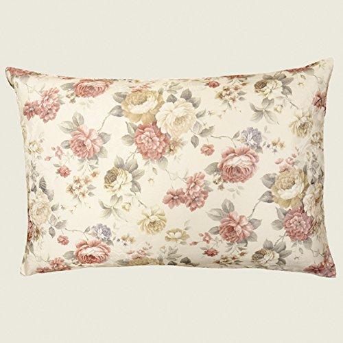 Kamaca Serie Romantic Roses in Creme Rose mit zarten Pastelltönen Markenqualität hoher Baumwolle Anteil (Kissenbezug 40x60 cm)
