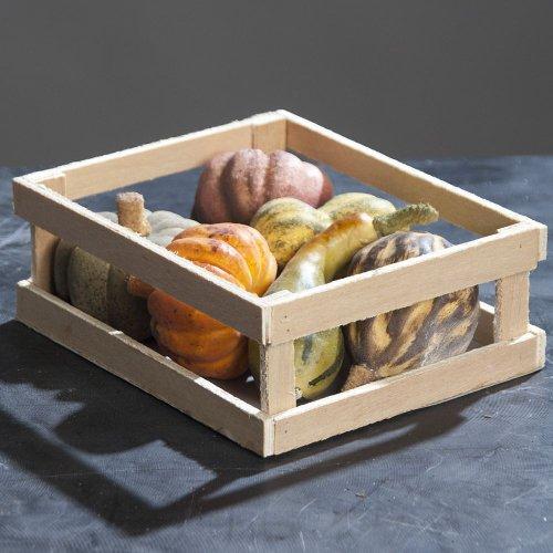 Kürbis Halloween Pumpkin Kunstobst Tischdeko Erntedank Herbst, 6er Set, sortiert