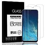 Jacess Panzerglasfolie [2 Stück] für Samsung Galaxy A50/A50S/m30s,Galaxy A50/A50S Panzerglas, wirklich Kratzfest [Vollständige Abdeckung] [Einfach anzubringen] [Blasenfrei]