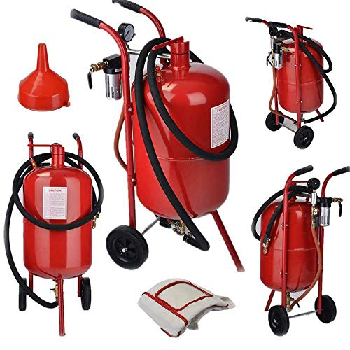 Purchase 10 Gallon Portable Air Sand Blaster Kit High Pressure Tank