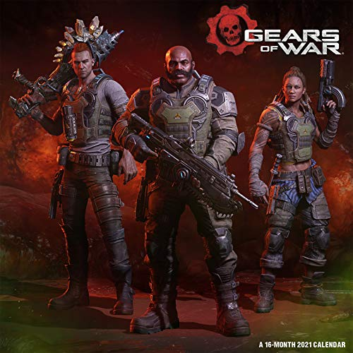 Gears of War 2021 Calendar