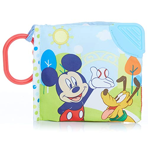 Kids Preferred Soft Book, Mickey Mouse by Kids Preferred (English Manual)