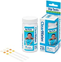 Clearwater Test Strips for Swimming Pool and Spa Treatment