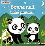 Bonne nuit petit panda ! - Livre animé - Kididoc dès 1 an