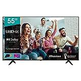 Hisense 55' UHD 4K 2021 55A68G, Smart TV VIDAA 5.0, HDR Dolby Vision, IPS, Controlli vocali Alexa /...
