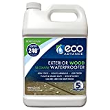 Eco Advance EAWOD128PD 1 Gallon Ready to Use Exterior Wood Siloxane Water...