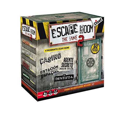 Diset- Escape room the game 2 - Juego de mesa adulto a...