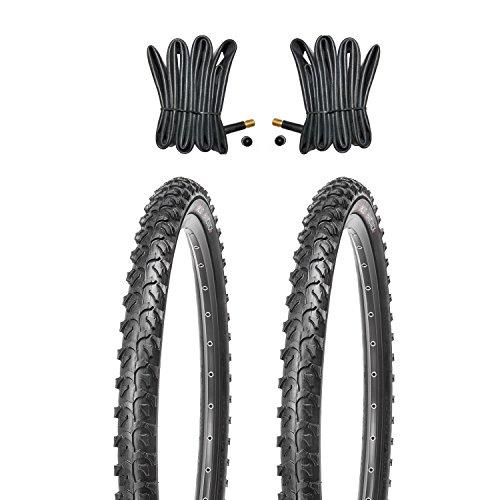 Kujo Resul MTB Reifen Set 24x1.95 inkl. Schläuche mit Autoventilen