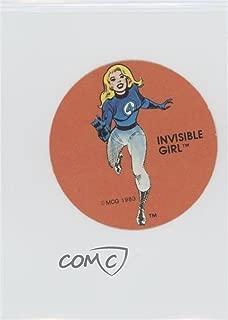Invisible Girl (Trading Card) 1983 Ovaltine Marvel Super Hero Stickers - [Base] #INGI
