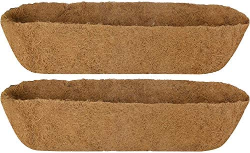 Paopro 36 Inch Trough Coco Liner Wall Planter Replacement Liners for Window Box 2 Pack product image