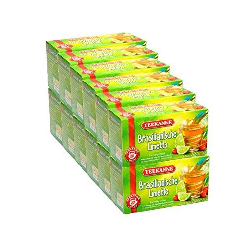 Teekanne Brasilianische Limette 12er Pack