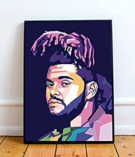 the weeknd canvas