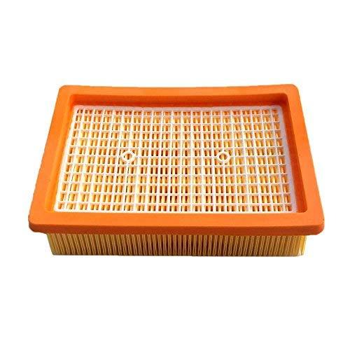 Flachfaltenfilter Filter für Staubsauger Kärcher MV4 MV5 MV6 WD4 WD5 WD6 Premium/Car Kit Lamellenfilter Ersetzt 2.863-005.0/28630050