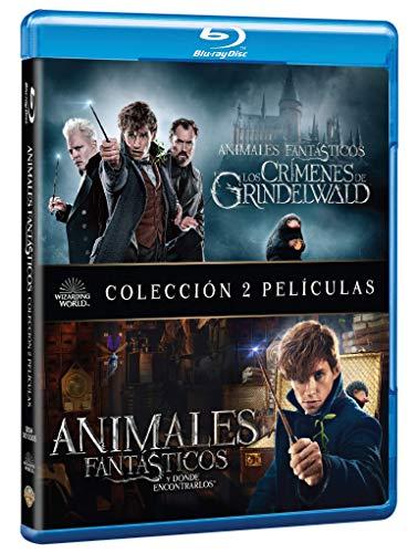 Pack: Animales Fantásticos y dónde encontrarlos + Animales fantásticos y los crímenes de Grindelwald (BD) [Blu-ray] a buen precio