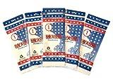 HAV-A-HANK Genuine MADE IN USA Handkerchief 15 inch [5 Pack]