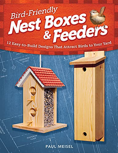 Bird-Friendly Nest Boxes & Feeders: 12 Easy-to-Build Designs that Attract...