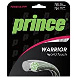 Prince Saitenset Warrior Hybrid Touch, Silber/Transparent, 12 m, 0085250148900005