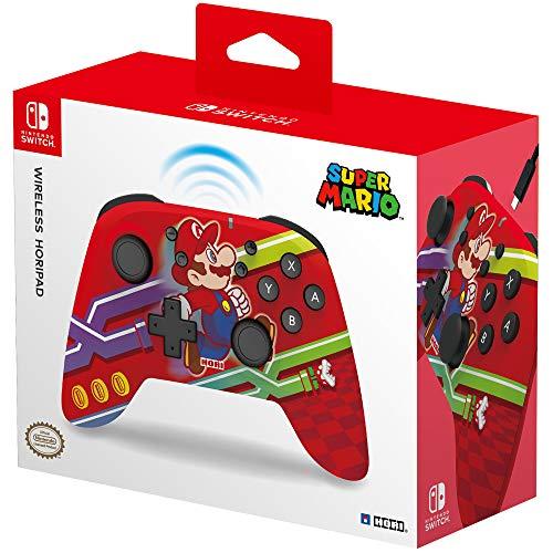 HORI – Mando Horipad inalámbrico Super Mario (Nintendo Switch)