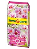 Floragard Orchideenerde torffrei 5 L • für Phalaenopsis und andere Orchideenarten • mit Premium-Dünger und Pinienrinde