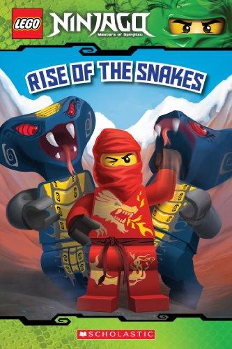 Rise of the Snakes (LEGO Ninjago: Reader) (LEGO Ninjago Reader Book 4) (English Edition)