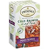 Twinings Mixed Berries Cold Brew Iced Tea, 20 Count