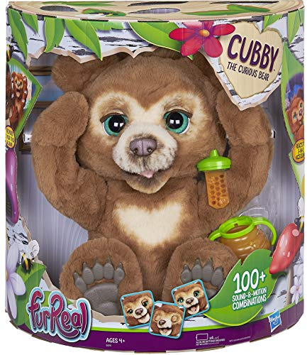 FurReal Cubby, The Curious Bear Interactive Plush Toy, Ages 4 &...