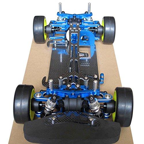 Hobbypower Alloy & Carbon Tamiya TT01 TT01E Shaft Drive 1/10 4WD Touring Car Frame Kit
