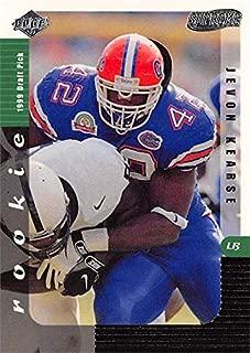 Jevon Kearse football card (Florida Gators) 1999 Collectors Edge Supreme Draft Rookie #156