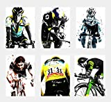 Wall Art Decor Sportsterne, Radsport, Triathlon-Poster, 6