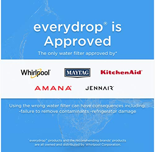 EveryDrop by Whirlpool Refrigerator Water Filter 5 (Pack of 1)