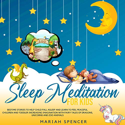 Sleep Meditation for Kids audiobook cover art